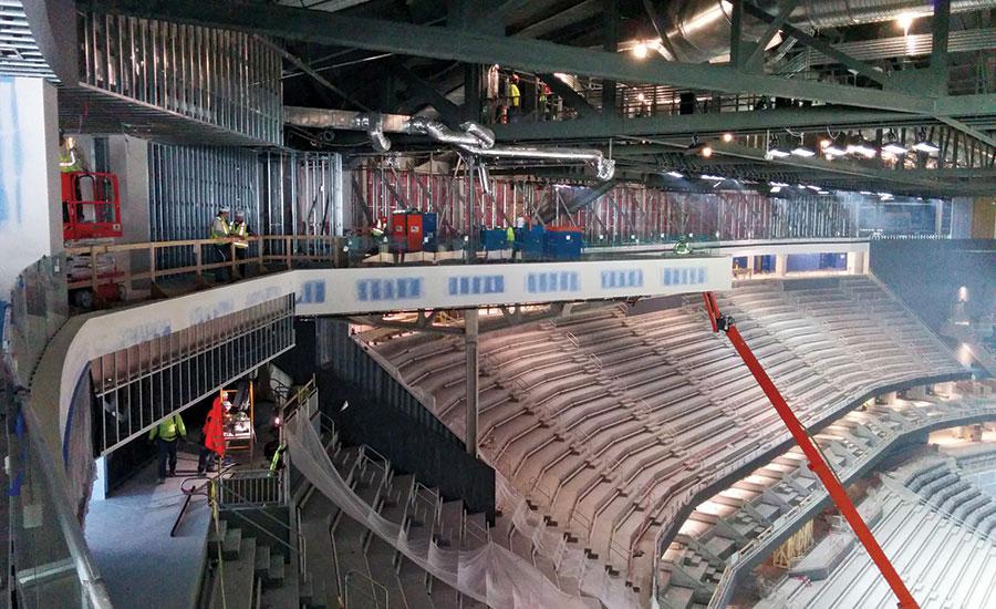 Las Vegas Multipurpose Arena Goes Up Fast 2016 03 07 Enr