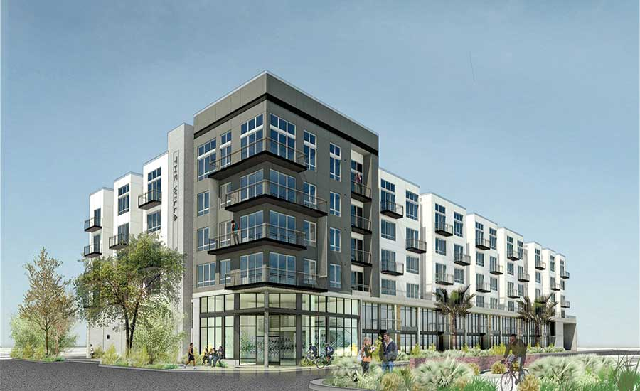 Six-story downtown infill project in Phoenix
