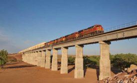 BNSF Railway Fort Sumner Double Track and Pecos River Bridge