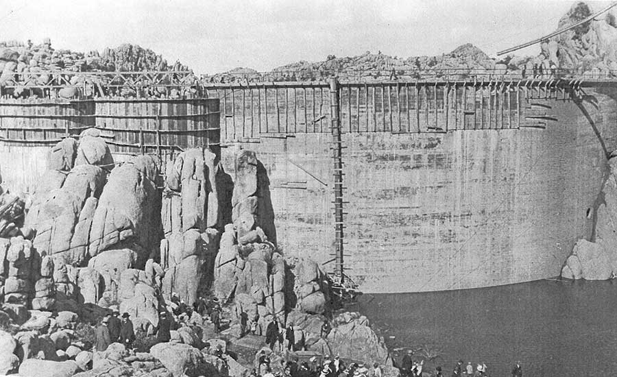 Granite Creek Dam 1917