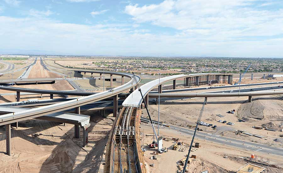 Highwaybridge Best Project Interstate 10 And Loop 303 Interchange