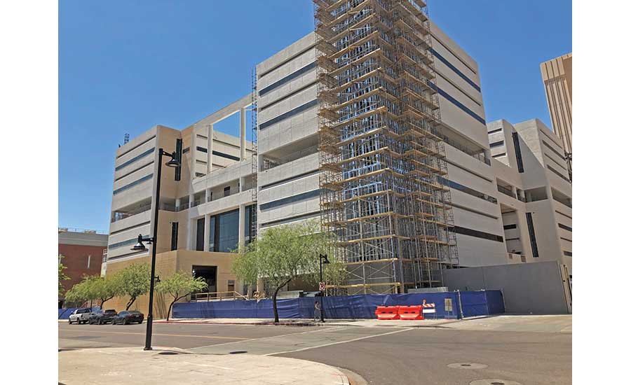 Madison Street Jail in downtown Phoenix