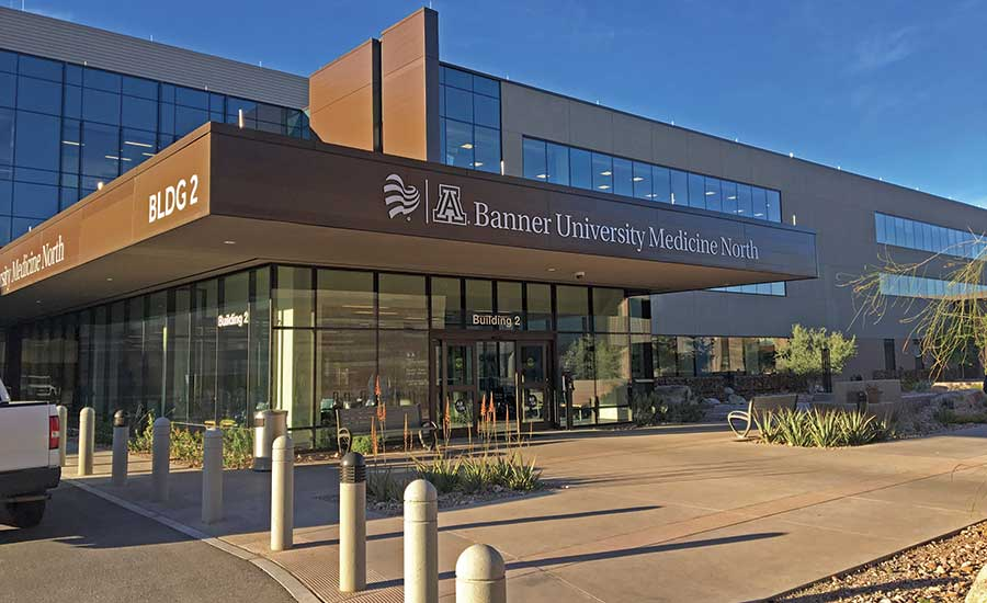 Award Of Merit Healthcare Banner University Medical Center Tucson Bumct North Campus Outpatient Center 2019 11 04 Engineering News Record