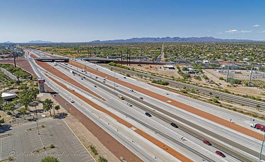 I-10, Ina Road Traffic Interchange