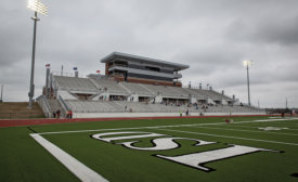 PBK-designed Clear Creek ISD Challenger Columbia Stadium