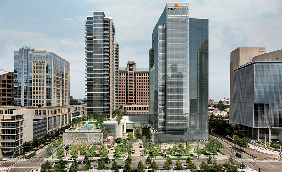 916,000-sq-ft high-rise project