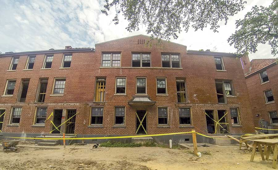 Historic Site Complicates  Housing Redevelopment