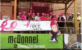 Susan G. Komen Ride the Pink Elevator campaign
