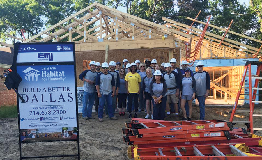 EMJ Corp. Habitat for Humanity