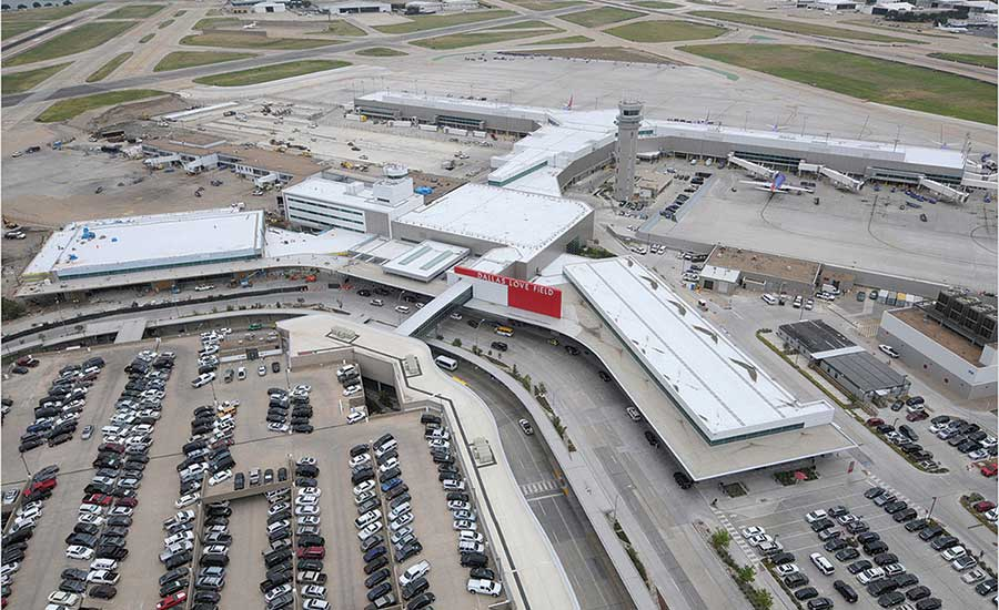 Specialty Contracting Best Project Dallas Love Field