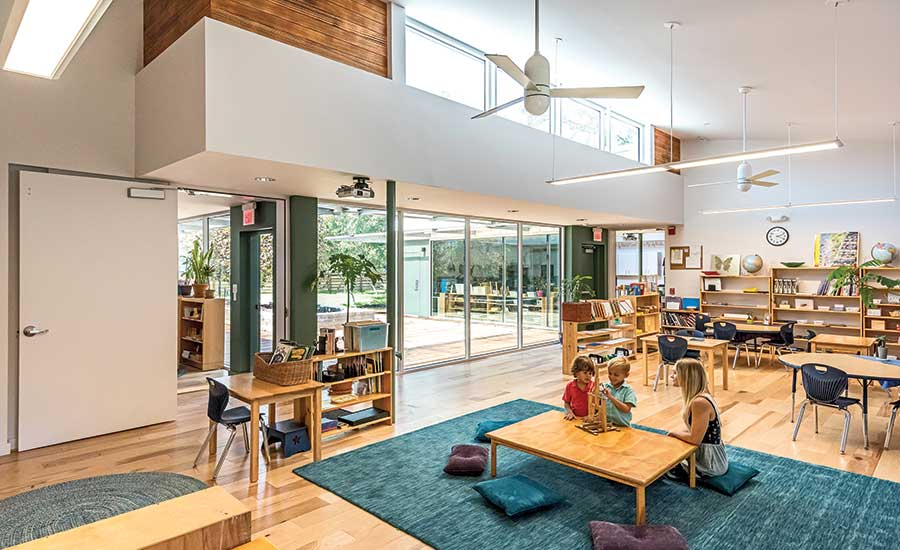 Small project best project the khabele elementary school - Interior design schools in texas ...