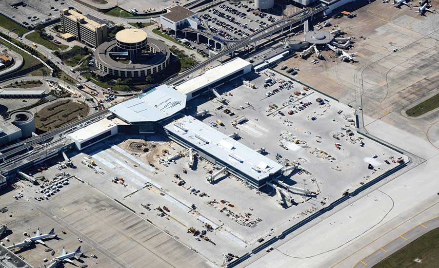 United Airlines' Terminal C North