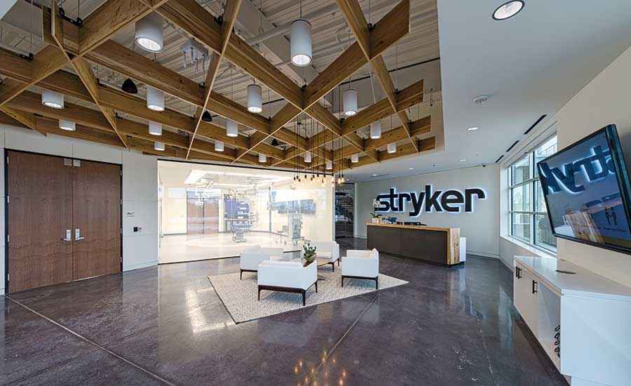 Interior Tenant Improvement Award Of Merit Stryker