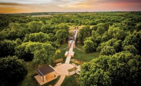 Chickasaw National Cultural Center and National Recreation Bridge