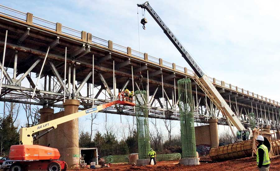 Webber's US 77 bridge project team