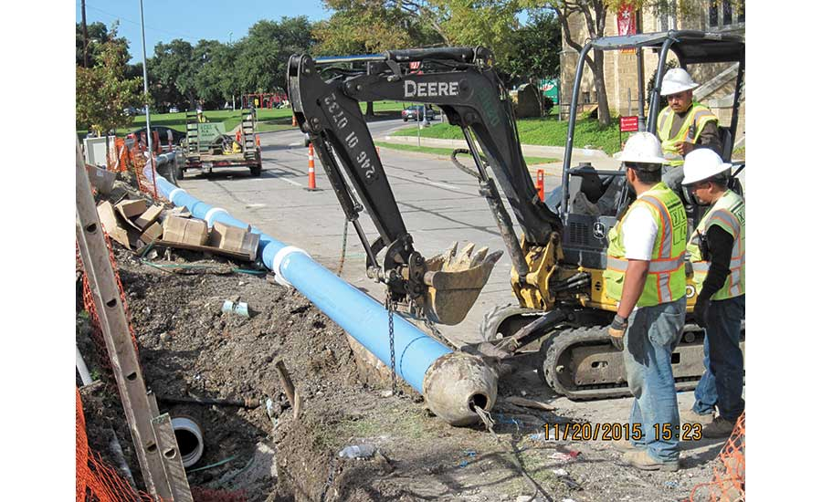 Munger Place Water Improvements