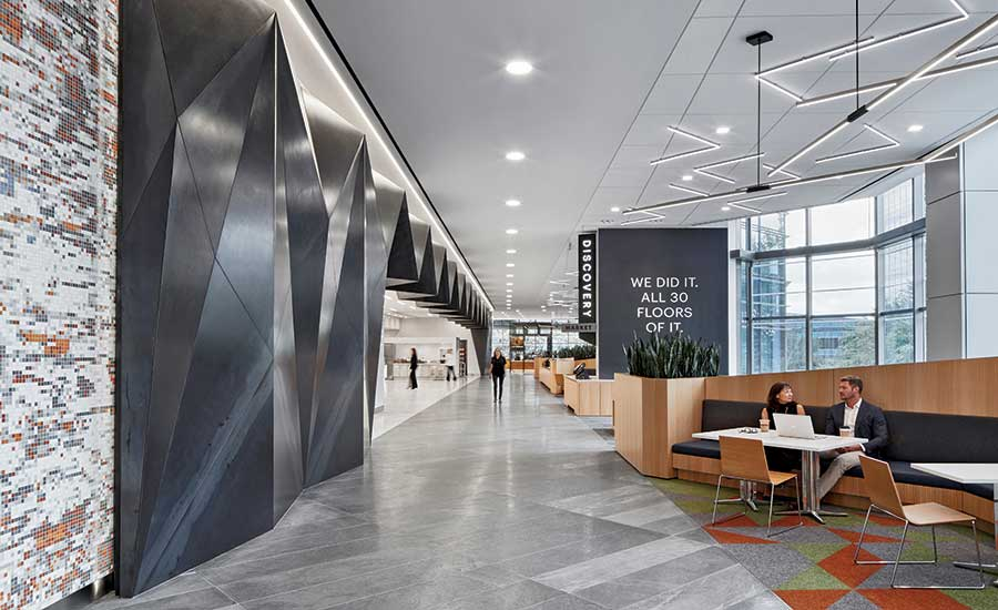 Interior Design Tenant Improvement Best Project Excellence In Safety Award Of Merit Bhp