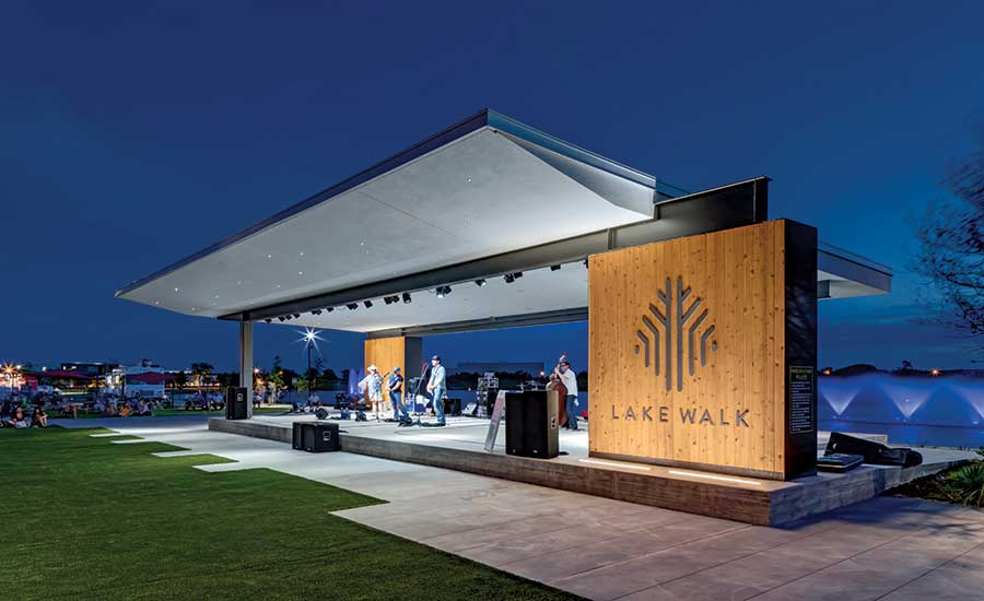 Lake Walk Pavilion