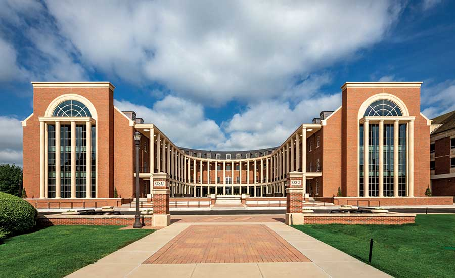 The New Business Building at Oklahoma State University
