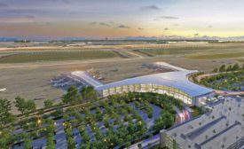 New Orleans airport's North Terminal building