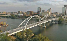 Broadway Bridge over the Arkansas River