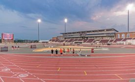 Texas A&M University E.B. Cushing Track & Field Stadium