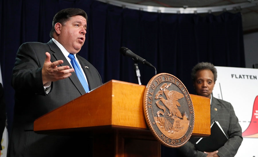 Illinois Gov. J.B. Pritzker