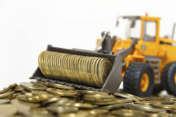 Loader With Coins