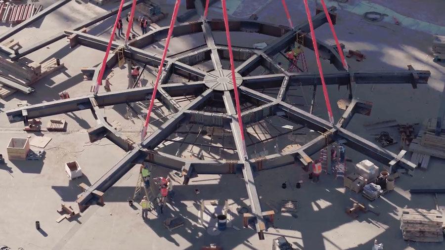 MSG Sphere Steel Ring Lift