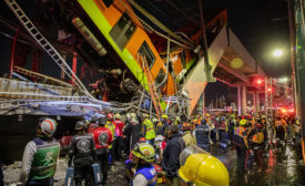 Mexico City Subway Collapse