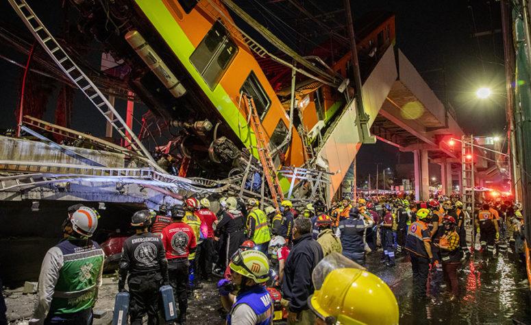 Mexico City Subway Collapse