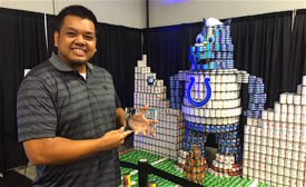 Canstruction Indianapolis 2016