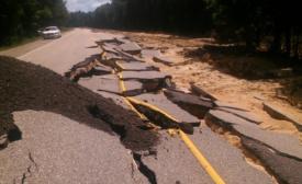 Louisiana Flood Damage