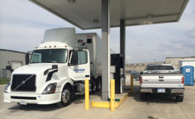 Fleet Truck Natural Gas