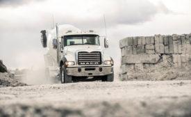 Mack Granite Truck