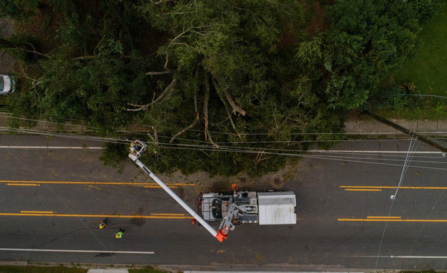 Recovery Crews Swing Into Action As Hurricane Michael Departs 2018