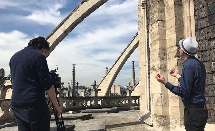 Laser Scan Data Integral to Fast-Track Rebuild of Notre Dame