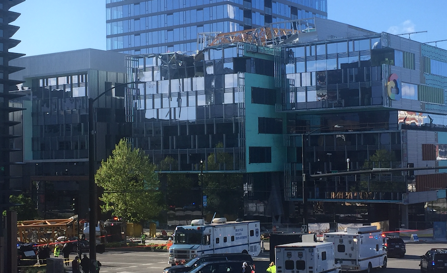 Fatal Crane Collapse in Seattle Prompts Questions About Disassembly