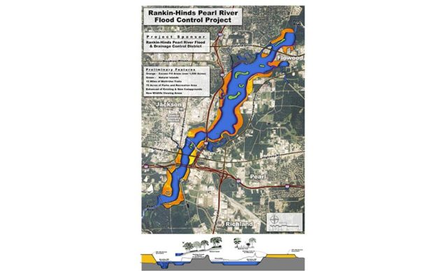 Record Pearl River Flooding Could be Mitigated by One Lake Project - Engineering News-Record