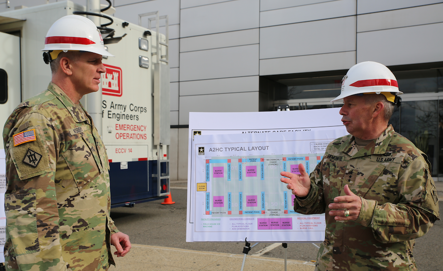 Corps Leaders Explain Strategy for Rapid Hospital Response