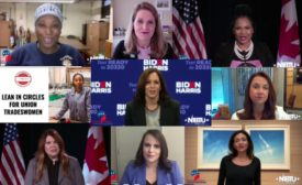 Speakers at Tradeswomen Build Nations, Including Kamala Harris