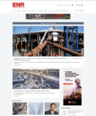 ENR.com new homepage design
