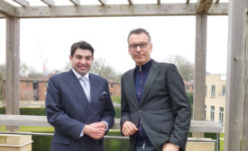 Oxford's Atif Ansar and Bent Flyvbjerg
