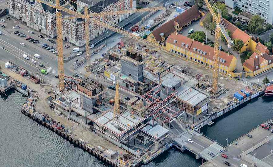 In Copenhagen Blox Building Resembles A Large Bridge