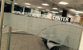 Caterpillar Fleet Monitoring Center