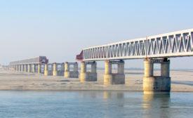Bogibeel 5-km Bridge in Assam