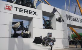 Terex booth