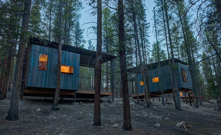 Elegant Colorado Outward Bound Micro Cabins