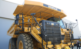 Caterpillar Mining Truck