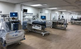 North Central Bronx Hospital beds ICU COVID-19